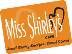 Miss Shirley's Gift Card
