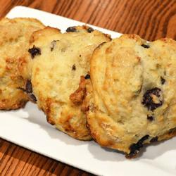 CHERRY GOAT CHEESE BISCUITS