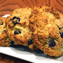 BLUEBERRY LEMON POPPYSEED BISCUITS