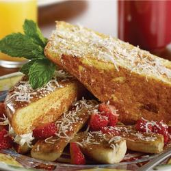 COCONUT CREAM STUFFED FRENCH TOAST