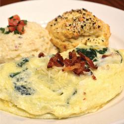 CY YOUNG OMELET