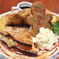GINGERBREAD COOKIE STUFFED FRENCH TOAST