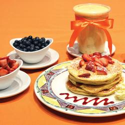 FRESH FRUIT PANCAKE PACKAGE