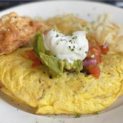 SOUTH OF THE BORDER OMELET