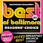 Best of Baltimore Winner 2015 2