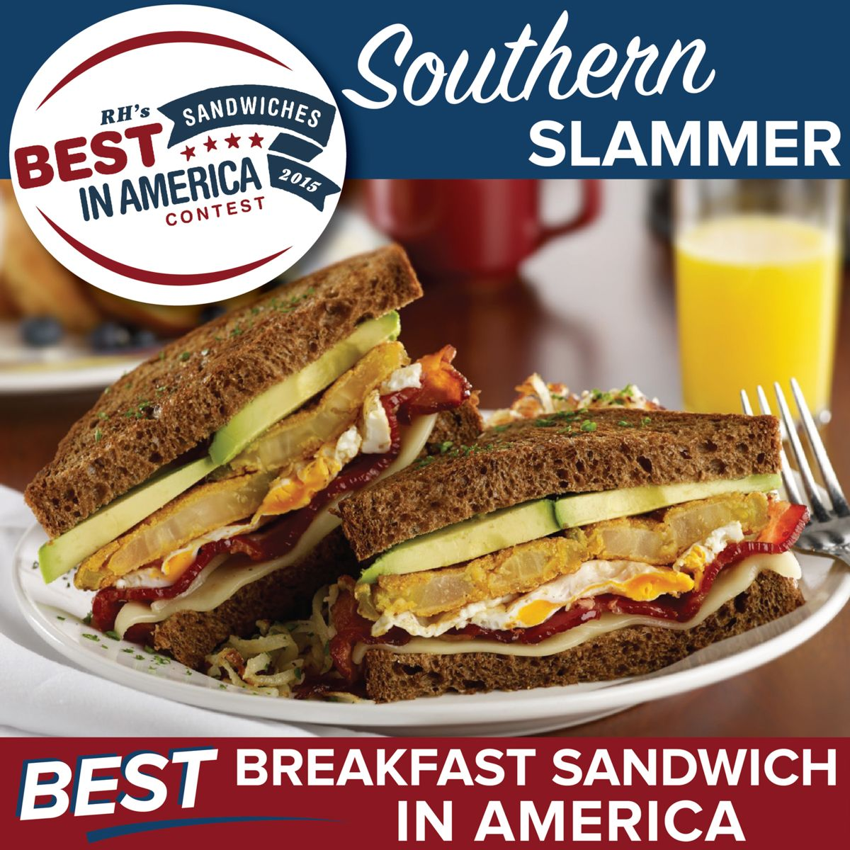 ... sandwich is a fresh Southern spin on the classic breakfast sandwich