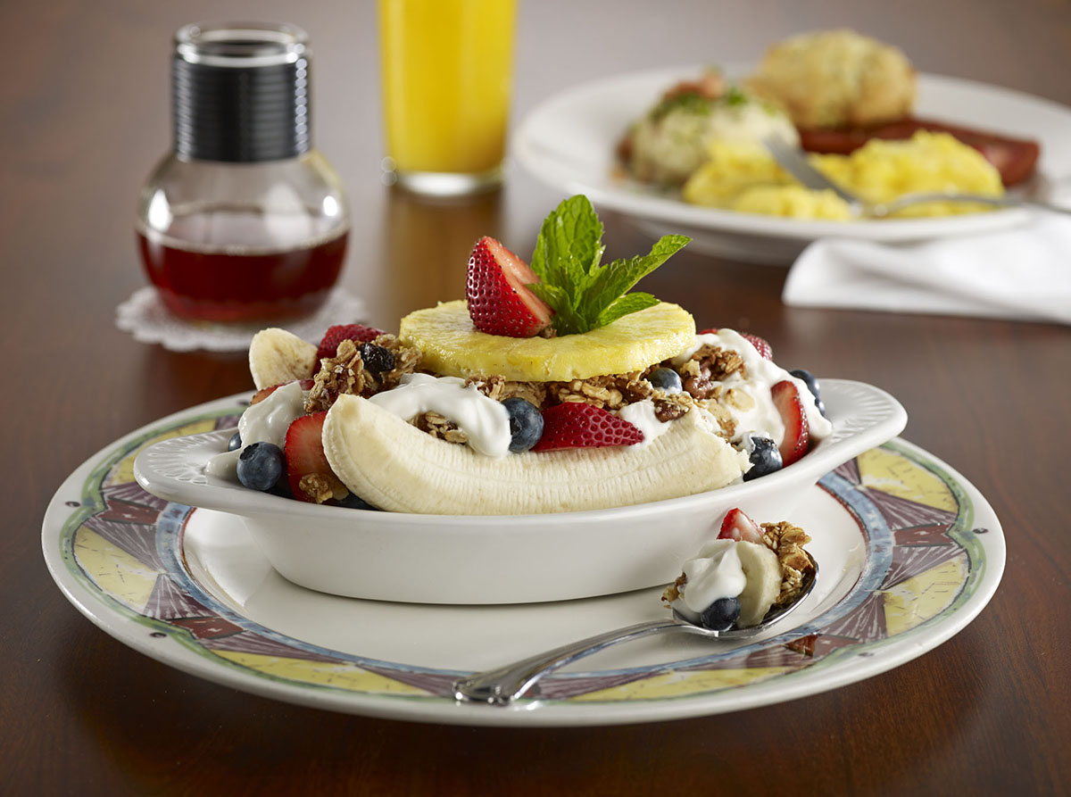 Miss Shirley's Signature Dishes - Breakfast Banana Split
