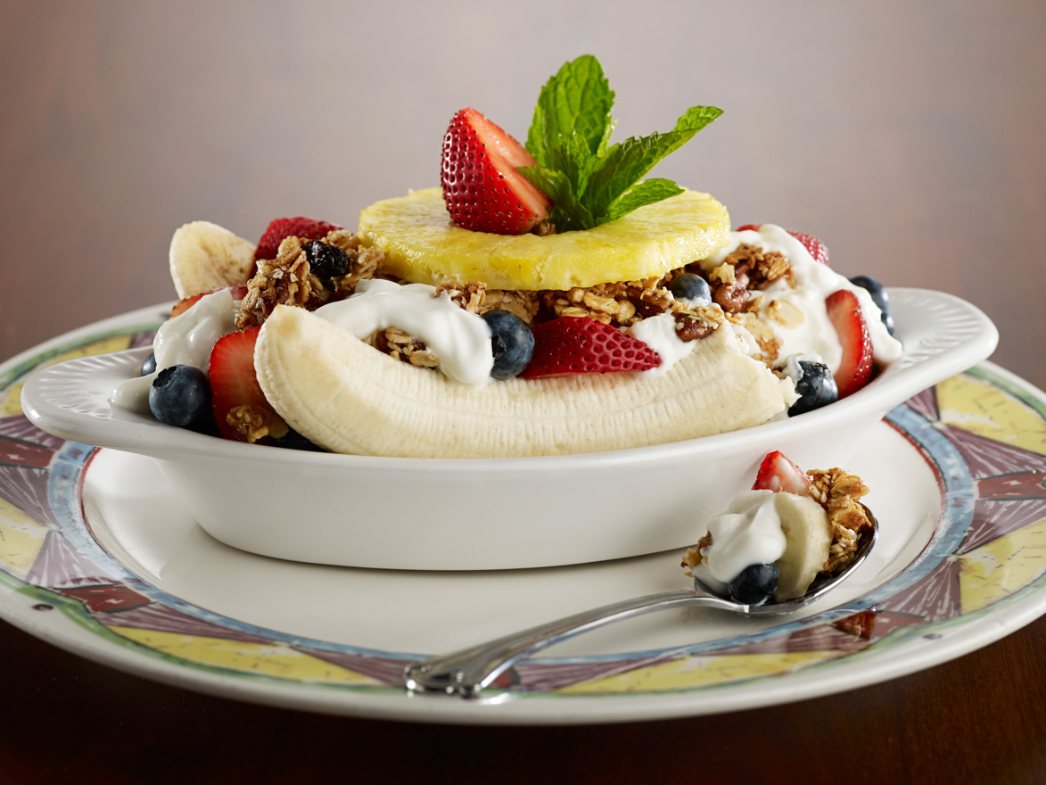Breakfast Banana Split
