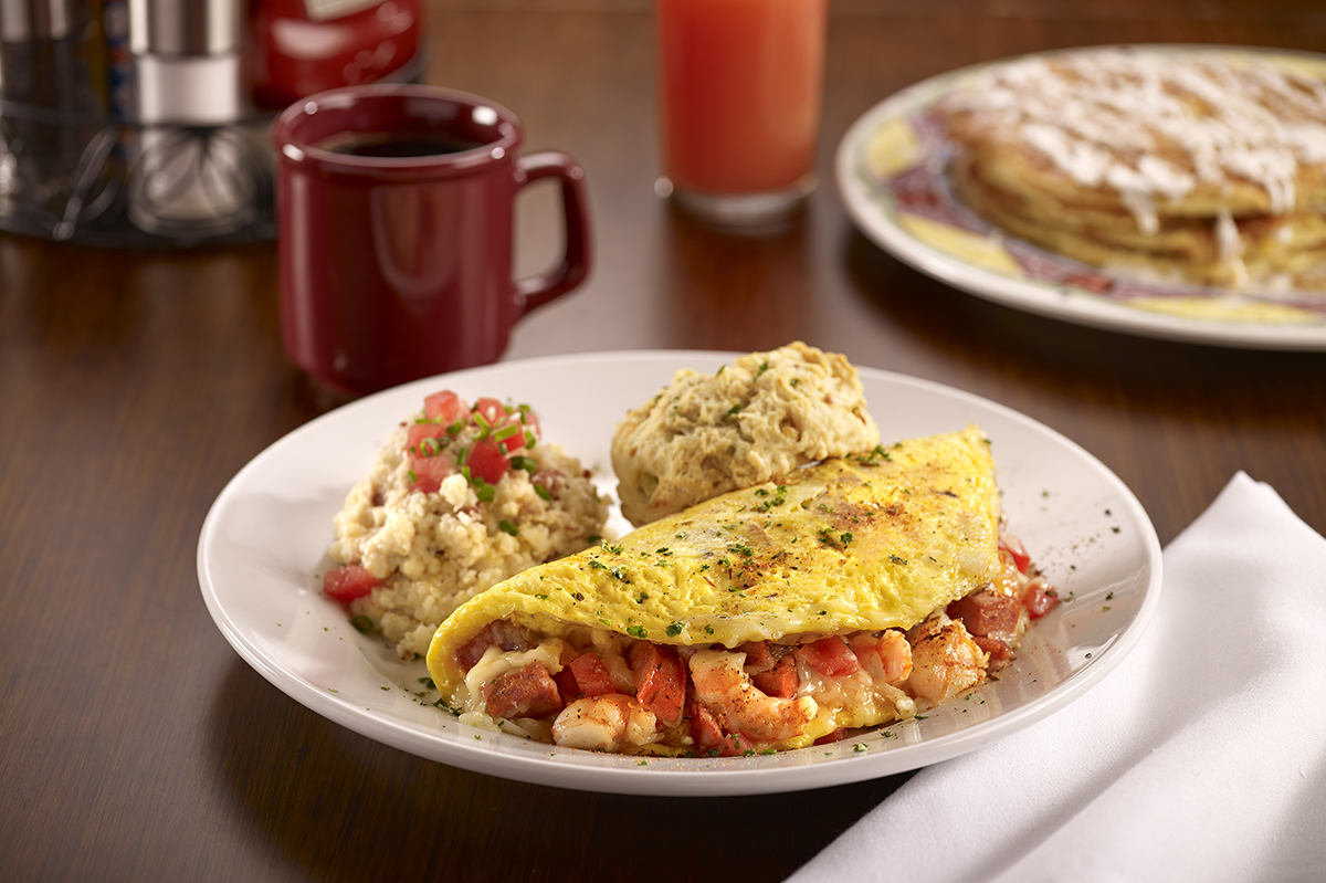 Miss Shirley's Signature Dishes - Bayou Omelet
