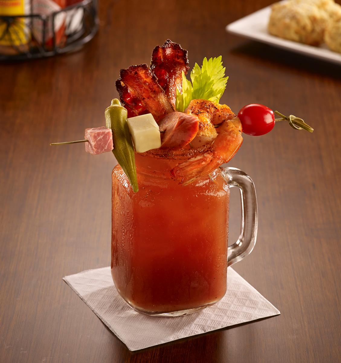 Miss Shirley's Signature Dishes - Born on the Bay-O Bloody Mary