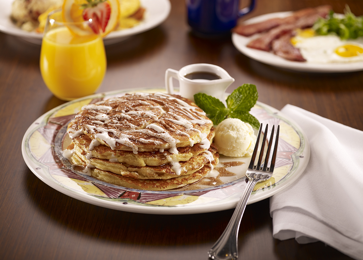 Miss Shirley's Signature Dishes - Cinnamon Danish Pancakes