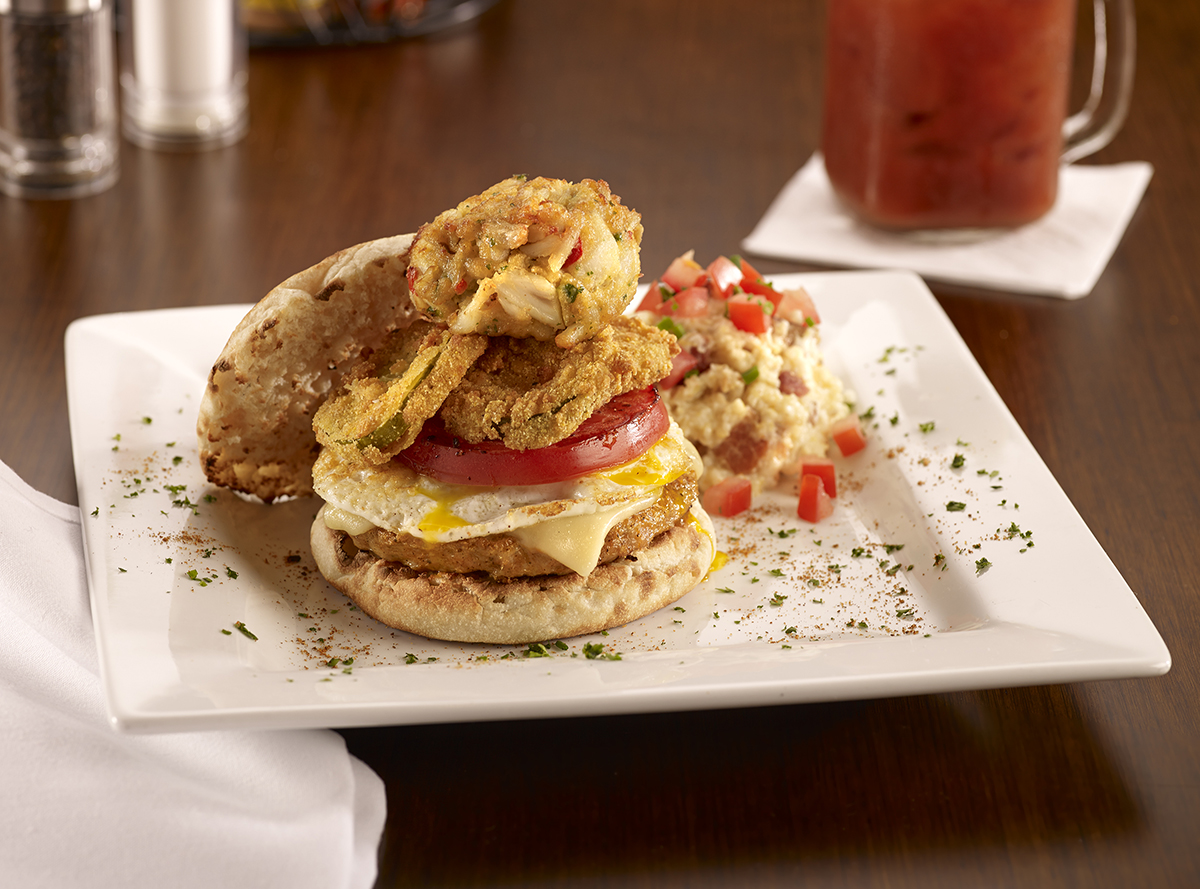Miss Shirley's Signature Dishes - Crab Happy Chesapeake Chicken Sammy