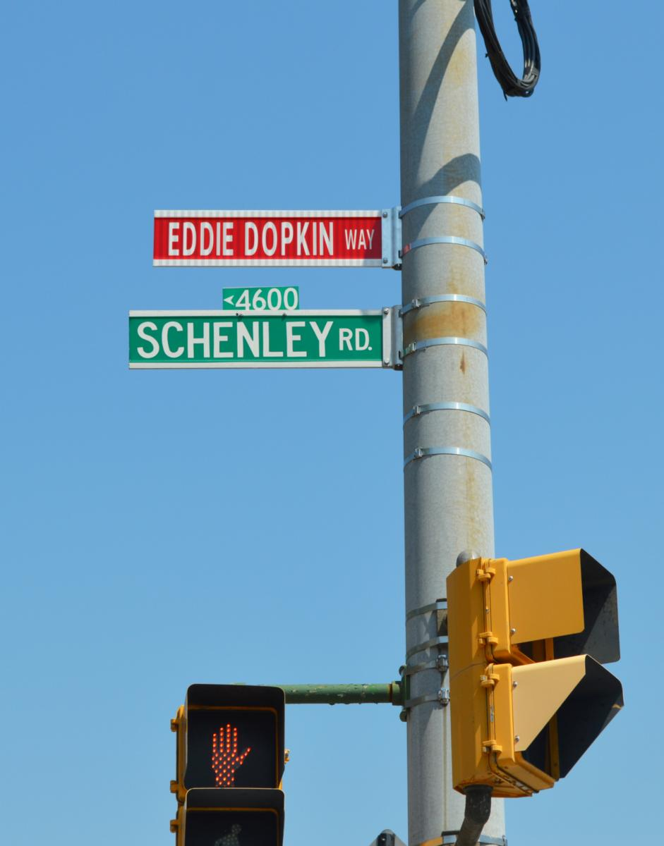 Eddie Dopkin Way - Miss Shirley's