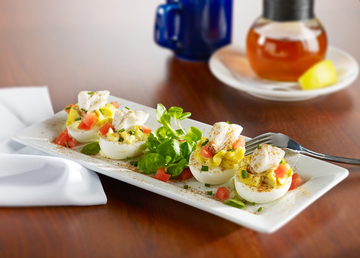 Miss Shirley's Signature Dishes - Chesapeake Deviled Eggs