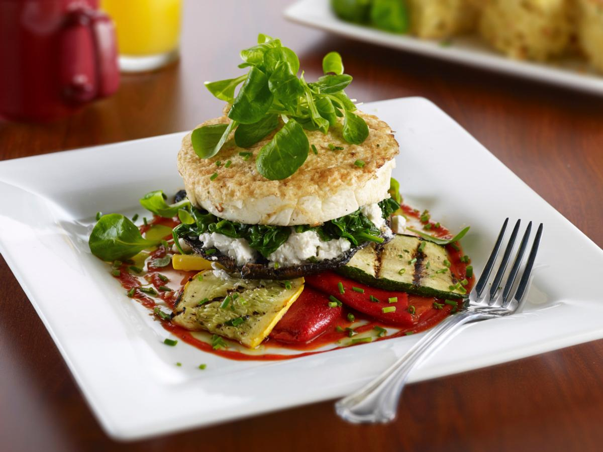 Miss Shirley's Signature Dishes - Summer Egg White Napoleon