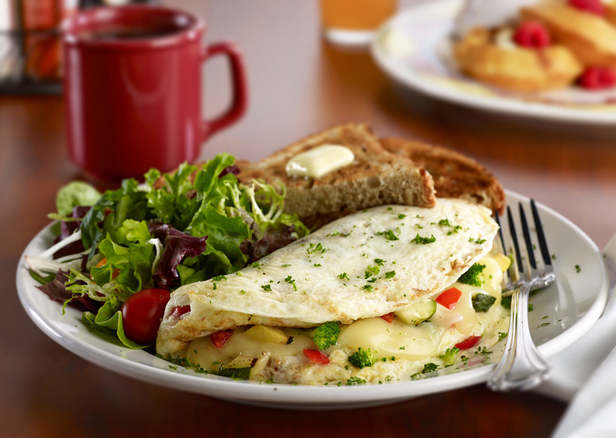 Miss Shirley's Signature Dishes - Garden Omelet