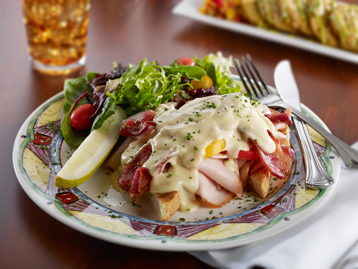 Soups, Salads & Sandwiches - Cold Spring Lane Hot Brown