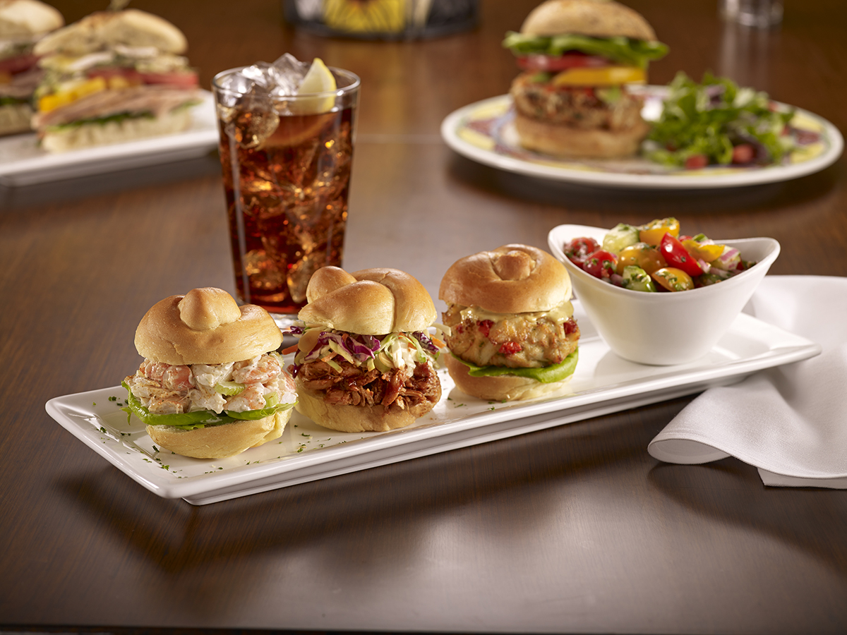 Soups, Salads & Sandwiches - Eastern Shore Sliders
