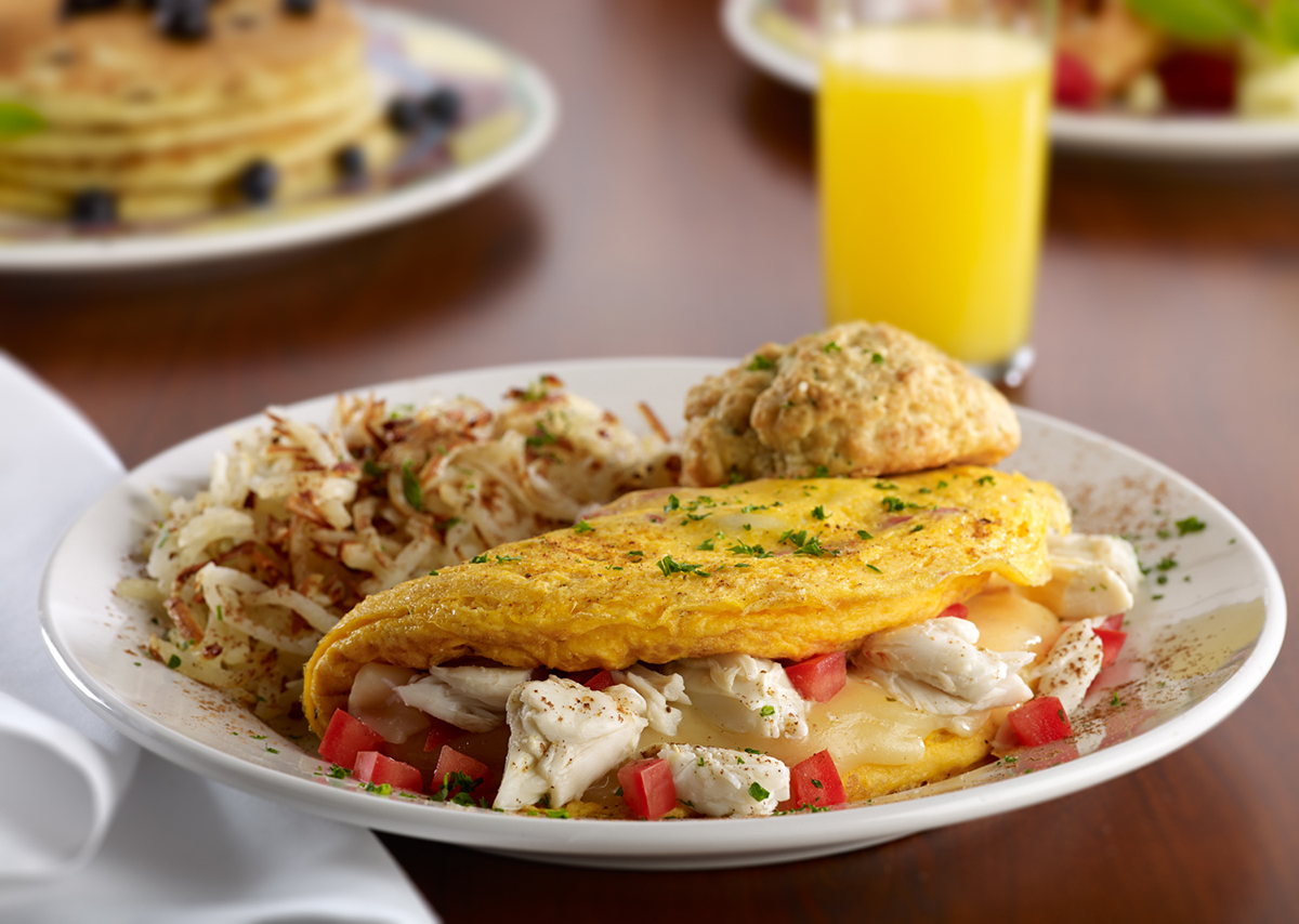 Miss Shirley's Signature Dishes - Maryland Omelet