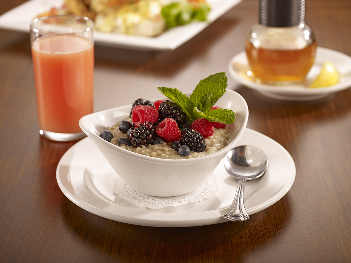 Miss Shirley's Signature Dishes - Berry Oatmeal