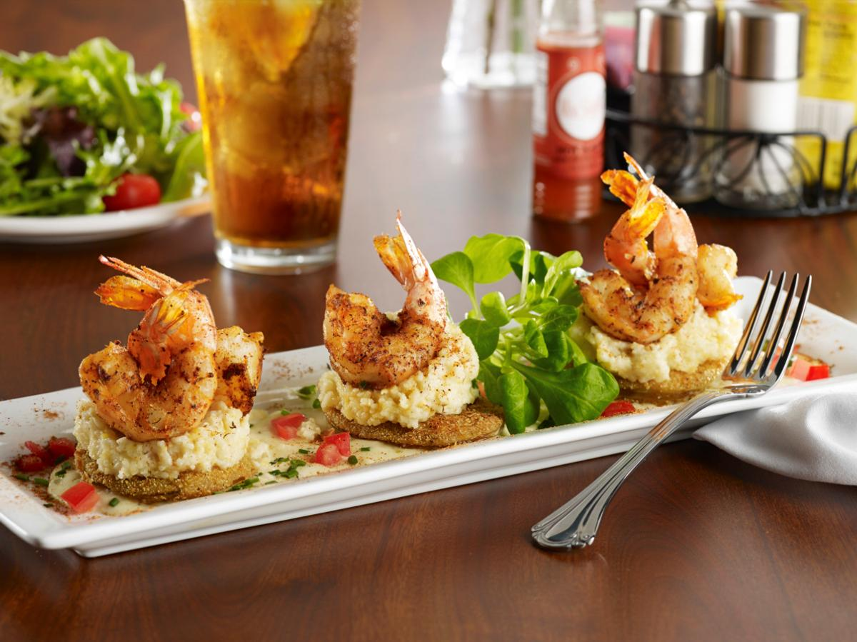 Miss Shirley's Signature Dishes - Get Your Grits on with Blackened Shrimp