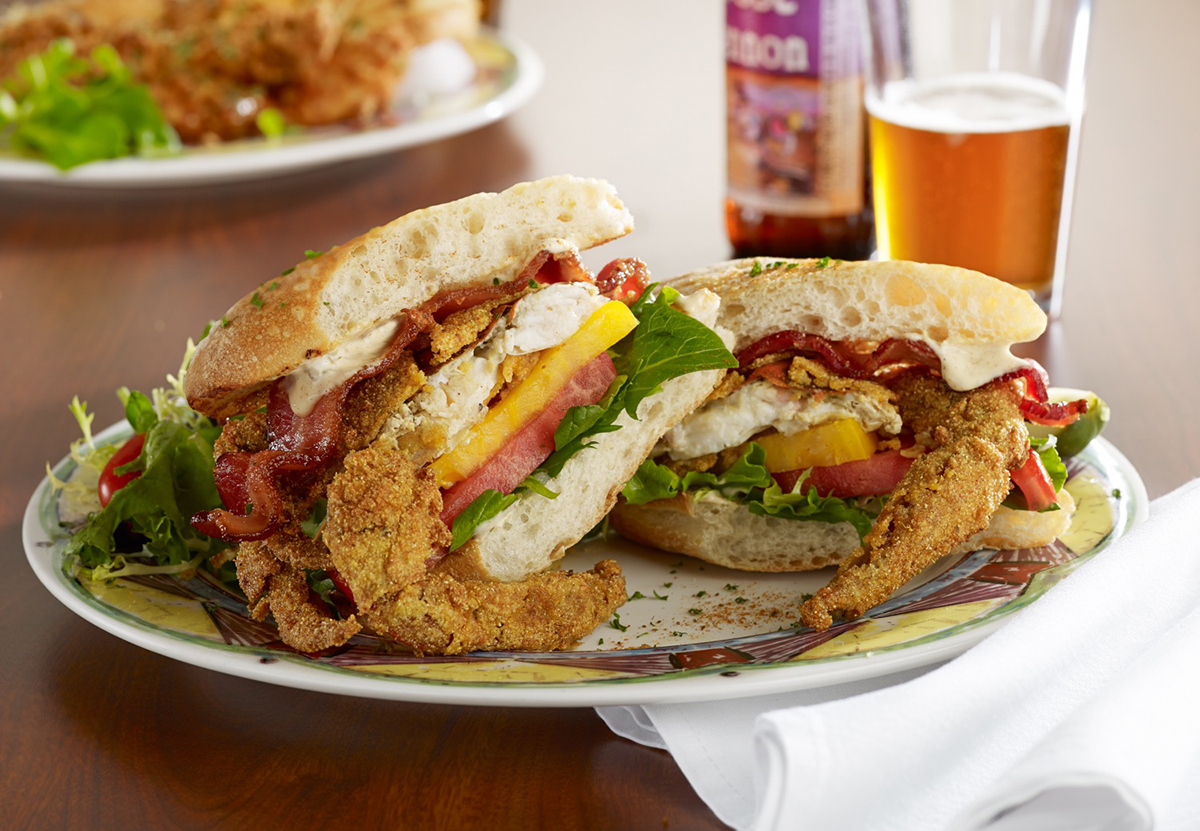 Soups, Salads & Sandwiches - Bay-O Po' Boy