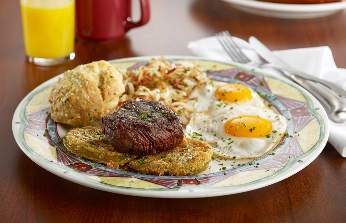 Miss Shirley's Signature Dishes - Eddie's Beef 'N Eggs