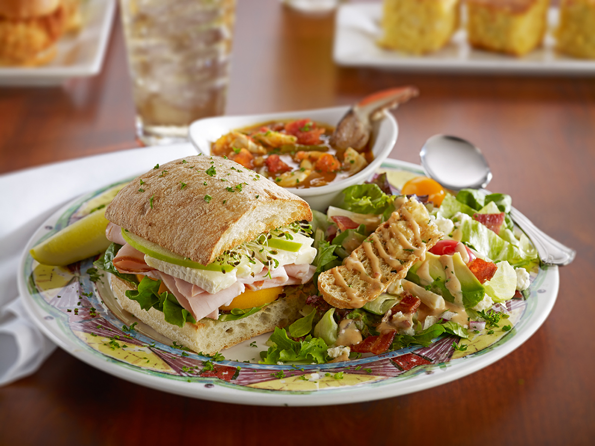 Soups, Salads & Sandwiches - Triple Play Lunch Combo